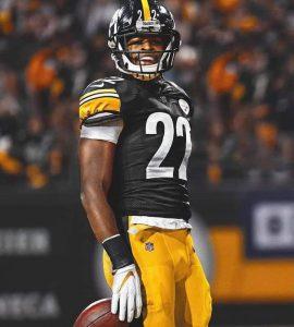 Najee Harris To The Pittsburgh Steelers.