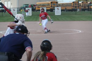 Brooklyn Compau Is A Stud Pitcher For The 2021 Frankenmuth Eagles Softball Team As A Sophomore.