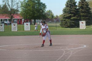 Ashley Ziel Is A Good Pitcher For The 2021 Millington Cardinals Softball Team As A Junior On Varsity.