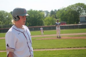 Drew Titsworth Is A Good Baseball Player For The Frankenmuth Eagles In 2021.
