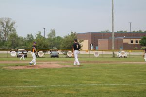 Aaron Sowles & Griffin Meinhold Had A Good Week For The Bad Axe Hatchets Baseball Team On Mound.