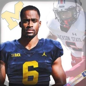 Daylen Baldwin Committed To The Michigan Wolverines Football Team At WR.