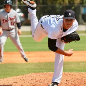 Matt Manning Had A Nice Debut For The Detroit Tigers Baseball Team On Thursday Night On The Road.