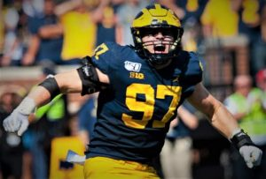 Aidan Hutchinson Needs A Good 2021 Campaign For The Michigan Wolverines Football Team On Defense In Ann Arbor.