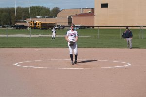 Brynn Polega Guide The USA Patriots Softball Team To A Semifinal Game Victory On Friday………