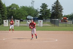 Ashley Ziel Will Have A Good 2022 Campaign For The Millington Cardinals Softball Team.
