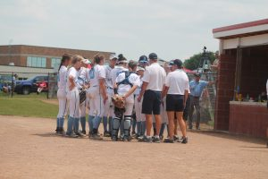 Richmond Blue Devils Softball Team Off Too The Division 3 State Championship Game On Saturday In East Lansing.