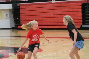 Got Cover A High School Summer Basketball Action Last Week………..