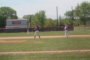 Avery Goldensoph Pitch His Final Game On Saturday For The Saginaw Swan Vikings Baseball Team & Program.