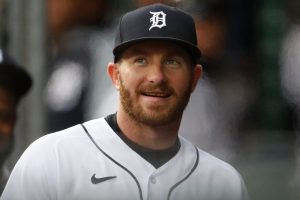 Robbie Grossman Has Come On Lately For The Detroit Tigers Baseball Team.