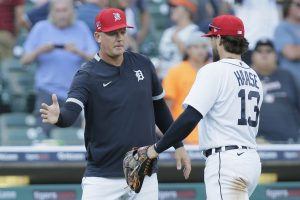 AJ Hinch Is Doing A Good Job As Manager For The 2021 Detroit Tigers Baseball Team…….