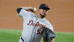 Wily Peralta Has Come On As Of Late For The Detroit Tigers Baseball Team On The Mound.