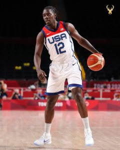 Jrue Holiday Was Solid For The USA Basketball Team.