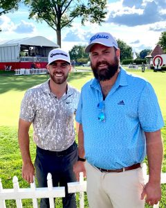 Tony Doerr Got To Meet Matthew Wolff In The 2nd Rd Of The 2021 Rocket Mortgage Classic Tournament.