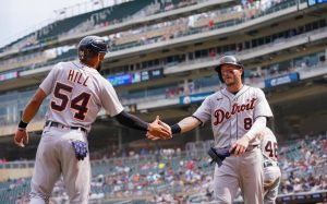 Detroit Tigers Beat The Minnesota Twins In High Scoring Affair On Wednesday At Target Field In Minneapolis.