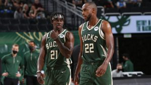 Khris Middleton & Jrue Holiday Wants To Win A NBA Championship Title & Gold Medal In 2021.