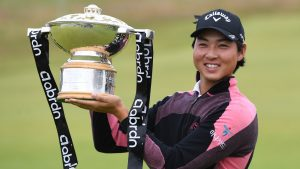 Min Woo Lee Won The Scottish Open In A Playoff Against England's Matthew Fitzpatrick In Scotland.