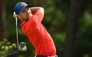 Xander Schauffele Won The Gold Medal For The United States In Golf In Tokyo, Japan……..