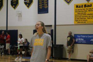 Rachel Van Dyk Took Over As Head Coach For The 2021 Imlay City Spartans Volleyball Team & Program.
