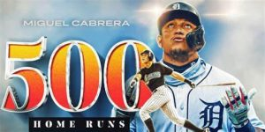 Miguel Cabrera Got His 500th Career MLB Home Run Against The Toronto Blue Jays On Sunday At The Rogers Centre In Toronto.