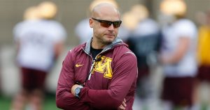 PJ Fleck Will Have Troops Ready For Action On Thursday Night At Home Against The Ohio State Buckeyes In Minneapolis.