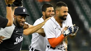 Derek Hill 1st Career Walk-Off Hit For The Detroit Tigers Baseball Team & Player On Tuesday Night.