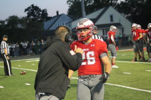 Phil Martin Is Got A Good RB In Cole Lindow For The 2021 Frankenmuth Eagles Football Team…….