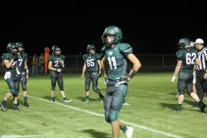Dylan Wehner Was Fantastic For The EPB Lakers Football Team To A Home Victory Over The Cass City Red Hawks On Friday Night.
