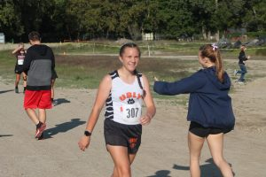 Maze Gusa Is A Standout Runner For The 2021 Ubly Bearcats Girls Cross Country Team.
