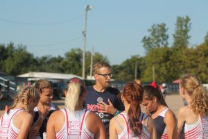 Michael Peter Has A Nice Core Of Runners On The 2021 USA Patriots Girls Cross Country Team.
