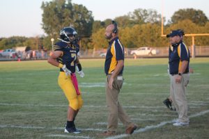 Kal Pokley Got The Best Play Call Of The Week At Claude Marsh Field In Bad Axe.