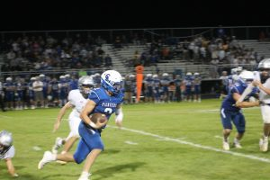 Jake Townsend Lead The Way For The Cros-Lex Pioneers Football Team In A Victory At Home On Friday Night.