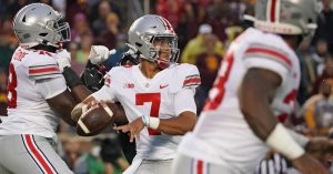 CJ Stroud Will Have His Troops Ready To Play On Saturday At The Horseshoe In Columbus Against The Oregon Ducks……