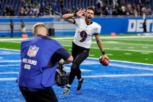 Justin Tucker Record Field Goal He Set On Sunday At Ford Field In Detroit.