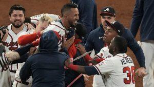 Austin Riley & Eddie Rosario Walk-Off Hits For The Atlanta Braves In The 2021 NLCS On Saturday & Sunday Night.