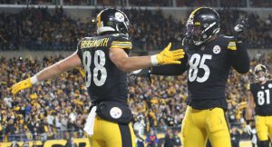 Pittsburgh Steelers Got A Sunday Night Football Victory Over The Seattle Seahawks At Heinz Field In Pittsburgh In OT.