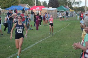 Grace Clemens Doing Very Well For The 2021 North Branch Girls Cross Country Team.