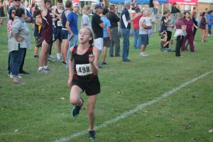 Maddi Huysentryt Is A Good Cross Country Runner For The Sandusky Redskins Girls Cross Country Team.