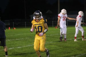 Mason Hatch Did A Good Job For The North Huron Warriors Football Team On Friday Night At North Huron HS.