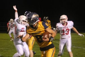 Will Case Is The Real Deal For The 2021 North Huron Warriors Football Team……..