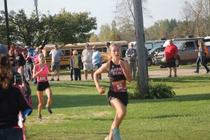 Reece Wruble Is Becoming A Good Cross Country Runner…….