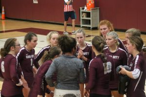 Great Team Victory For The Cass City Red Hawks Volleyball Team On Tuesday Night In GTCW Division Action.