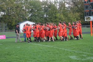 Almont Get A Home Victory Over The Armada In BWAC Conference Football Action On Friday Night.