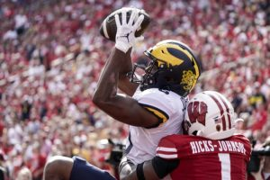 Cornelius Johnson Is Becoming A Stud WR For The Michigan Wolverines Football Team.