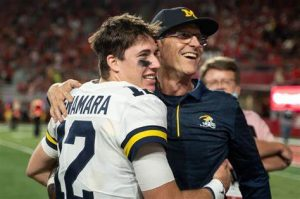 Michigan Wolverines Top 4 Players Of The Game Against The Nebraska Cornhuskers On Saturday Night On The Road.