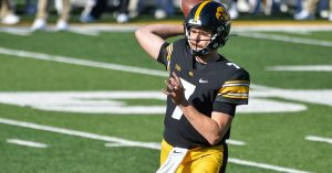 Iowa Got A Top 5 Matchup Victory Over Penn State At Kinnick Stadium In Iowa City.
